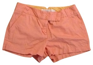 J.Crew Dress Shorts Orange
