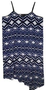 Maxi Dress by Lane Bryant Ikat Summer Asymmetric Hi Lo