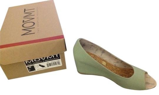 Movmt Mint green Wedges