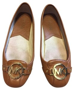 MICHAEL Michael Kors Monogram Brown Flats