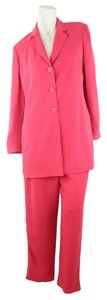 Dana Buchman Dana Buchman Woman Designer Silk and Viscose Watermelon 2 piece Suit Size 4/6