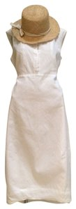 Donna Karan short dress White on Tradesy