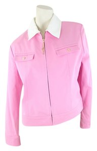 St. John Pink and White Jacket