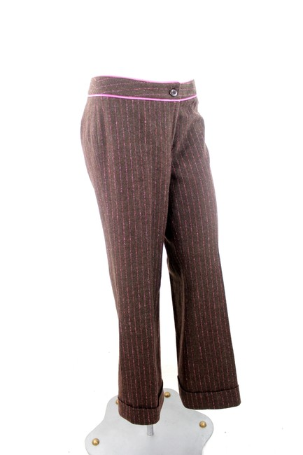 Lilly Pulitzer Trouser Pants Brown & Pink