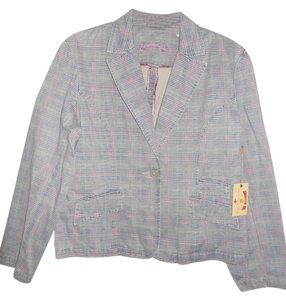 Carribean Joe Gray Plaid Blazer