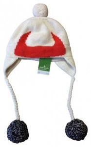Kate Spade Kate Spade Pom Pom Hat with Viking Horns BNWT