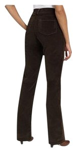 NYDJ Tummy Tuck Control Top Straight Pants Brown