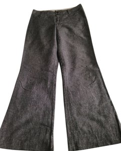 Banana Republic Trouser Pants Black Tweed