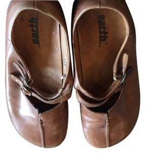 Earth Brown Mules