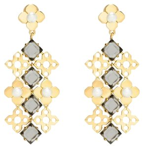 Tory Burch Tory Burch Gold Babylon Chandelier Earrings 3
