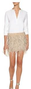Haute Hippie ... Mini Skirt Beige ...