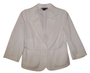 Boston Proper White Jacket