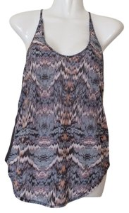 Urban Outfitters Silence + Noise Tribal Racer Back Top Multi