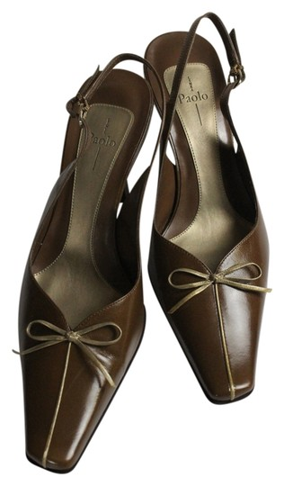 Linea Paolo Brown Mules