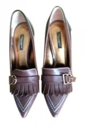 Preload https://item3.tradesy.com/images/dolce-and-gabbana-brown-leather-pumps-size-us-75-regular-m-b-14557-0-0.jpg?width=440&height=440