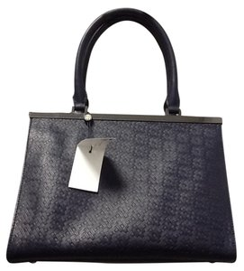 Brooks Brothers Classic Satchel in Navy Blue