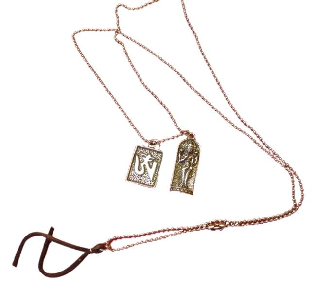 Item - Silver Tone Blessed Buddha Necklace