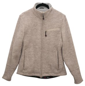 Woolrich Wool Oatmeal heather Jacket