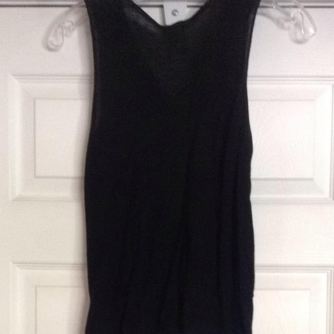 Old Navy Top Black With Silver Accents