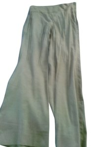 Donna Karan Straight Pants green