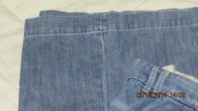 Other Trouser/Wide Leg Jeans-Light Wash