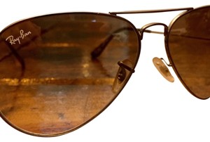 Ray-Ban Gradient lens with Gunmetal frame Ray-Ban 58's