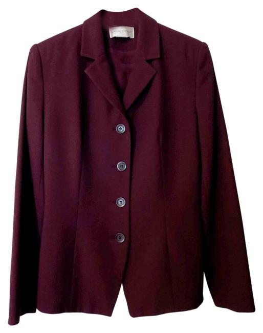 Item - Rich Burgundy * Fully Lined * Skirt Suit Size 6 (S)