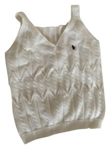 Polo Ralph Lauren White knitted sweater Halter Top