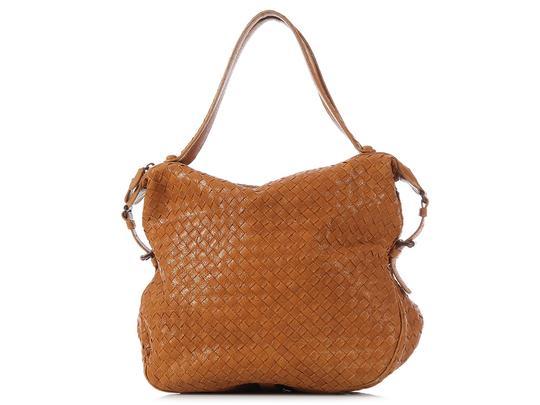 Bottega Veneta Bv.k0303.05 Woven Chevre Leather Shoulder Bag Image 1