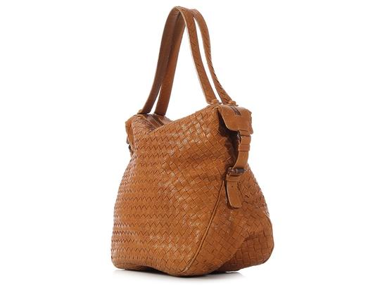 Bottega Veneta Bv.k0303.05 Woven Chevre Leather Shoulder Bag Image 2