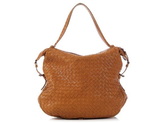 Bottega Veneta Bv.k0303.05 Woven Chevre Leather Shoulder Bag Image 3