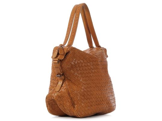 Bottega Veneta Bv.k0303.05 Woven Chevre Leather Shoulder Bag Image 4
