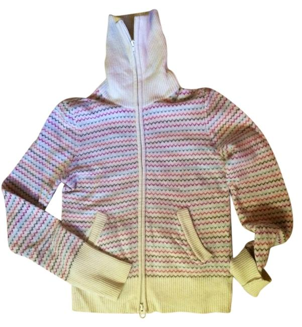 Preload https://item2.tradesy.com/images/french-connection-beige-with-color-stripes-na-sweaterpullover-size-8-m-1456061-0-0.jpg?width=400&height=650