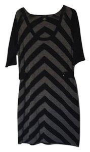 Club Monaco short dress Black and Grey on Tradesy