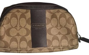Coach Coach Heritage Stripe Signature Travel Kit