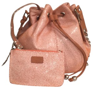 Sorial Leather Suede New Nwt Wristlet Cross Body Bag