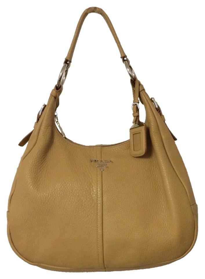 c032af1588dfa1 Prada Quality Leather Classic Made In Italy Kate Tory Hobo Bag Image 0 ...