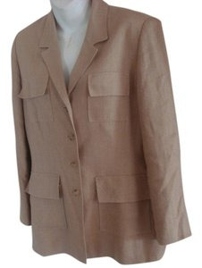Georges Rech Vintage 70s Tweed Tan Blazer