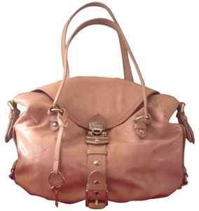 Moschino Satchel in Light Pink