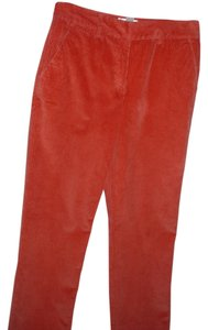 Talbots Stretch Corduroy Stretch Pant Boot Cut Pants burnt orange