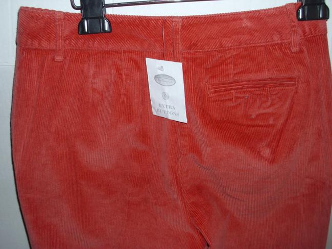 Talbots Stretch Corduroy Stretch Corduroy Casual Boot Cut Pants burnt orange Image 1