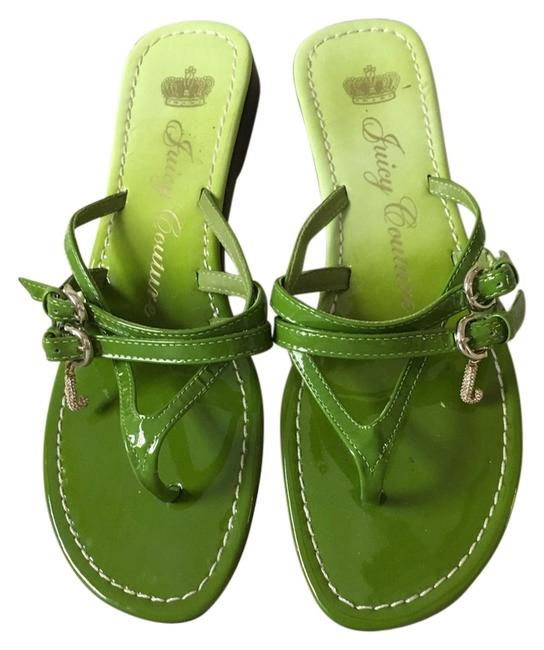 Item - Green Sandals Size US 7 Regular (M, B)