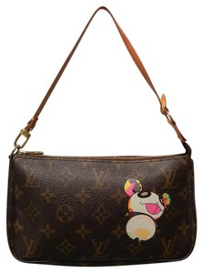 Louis Vuitton Panda Wristlet Shoulder Bag
