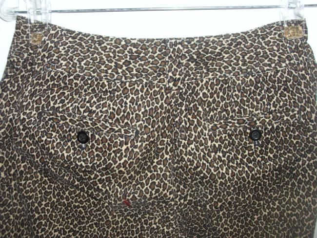 Talbots Leopard Stretch Corduroy Boot Cut Jeans Image 1
