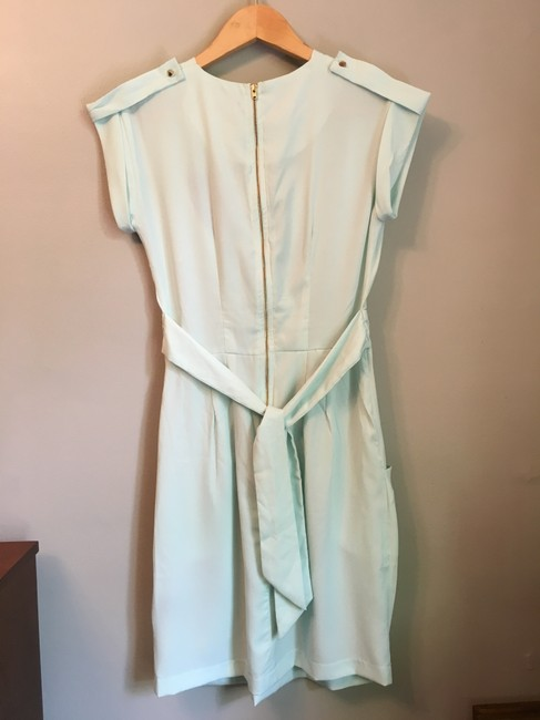 ASOS short dress sea foam green, pale mint Closet Blu Wrap Visible Zipper on Tradesy Image 5