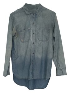 Madewell Button Down Shirt Washed