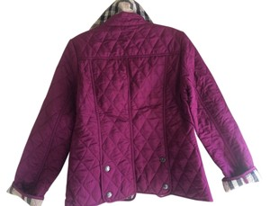 Burberry Fushia Jacket