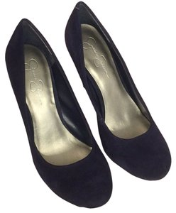 Jessica Simpson Navy suede Pumps
