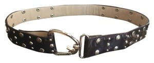 Brown Patent Leather Belt