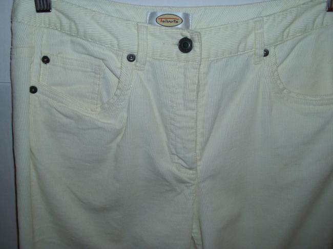 Talbots Corduroy Stretch Cotton Comfortable Casual Boot Cut Jeans Image 1